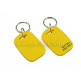 2 in 1 Dual frequency cloning Keyfob Tag (Yellow)