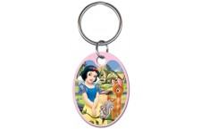 "KC-D56 Snow White & Friends ""3D Image"" Key Chain"