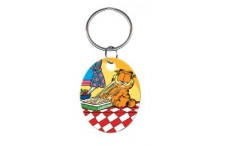 KC-G2 Garfield & Lasagne Key Chain