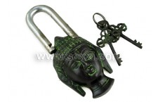 Antique Lock - Buddha