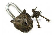 Antique Lock - Lion
