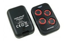 Prime Top 01 Black with 4B Red Keys - Multi-frequency Remote