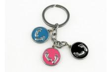 Colourful Key Chain - FootPrint Design