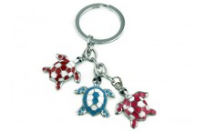 Colourful Key Chain - Turtle Design
