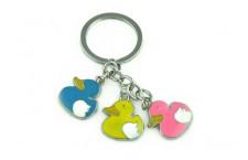 Colourful Key Chain - Duck Design