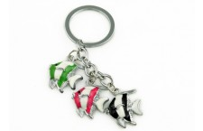 Colourful Key Chain - Angel Fish Design