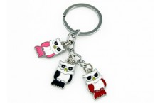 Colourful Key Chain - Owl Design