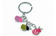 Colourful Key Chain - Beetle Design