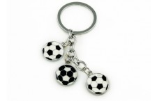 Colourful Key Chain - Soccer Design