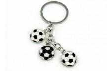Colourful Key Chain - Soccer Design