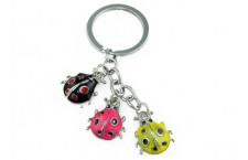 Colourful Key Chain - Lady Bug Design