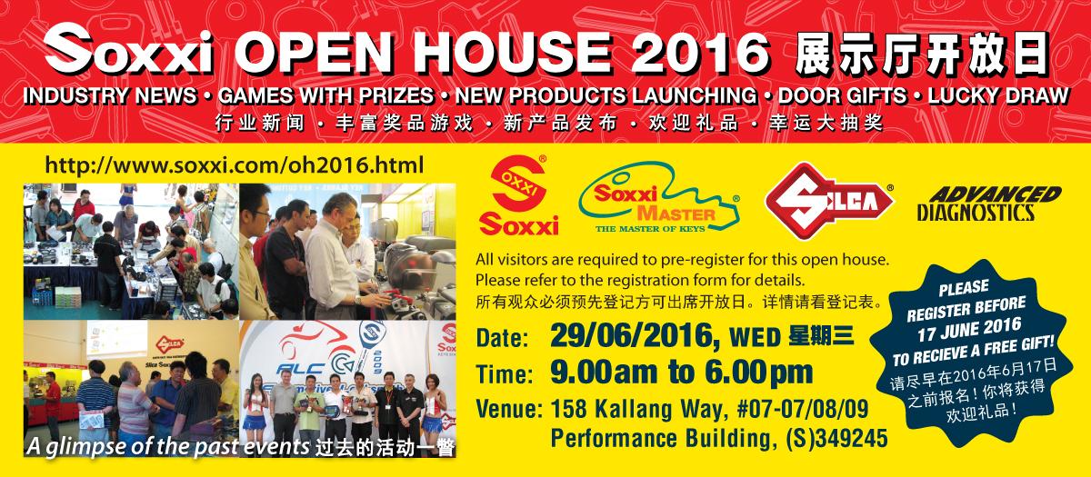 Soxxi Open House 2016 at Kallang